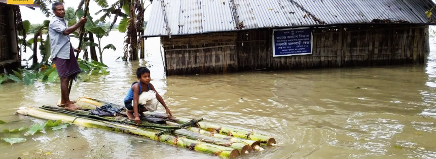 People in many states across India are struggling to survive massive floods.