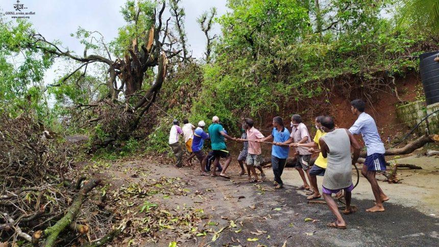 Cyclone Nisarga-hit Bandarwadi village in Maharashtra's Ratnagiri district