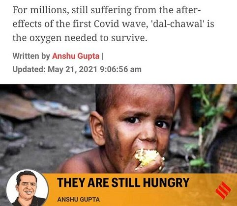 Beyond Covid: We must address the hunger crisis in India